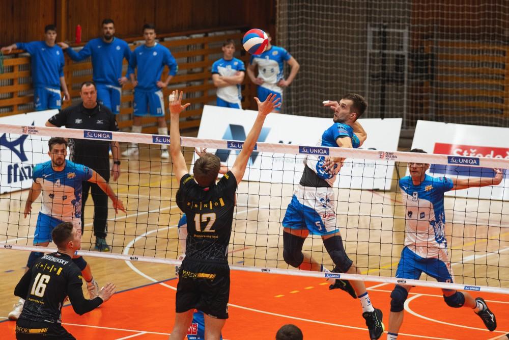 Předkolo play-off (Kladno vs. Brno)